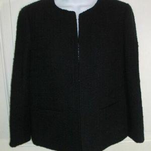 Vince black jacket blazer women 8 cardigan *